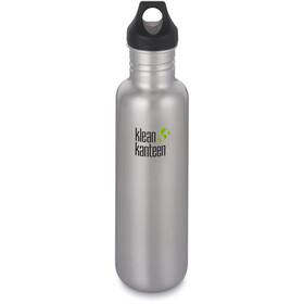 Klean Kanteen Classic Bottle Loop Cap 800ml Brushed Stainless